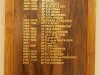 Adams College -  Honours Boards - Principals & Rectors