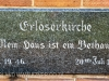 Assegai - Church of the Redeemer Lutheran Church in Church Road plaque 1952