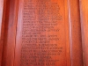 Michaelhouse -  Dining room - 1914 1918 - Rolls of Honour (7)