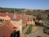 Michaelhouse - view from chapel tower  over buildings & main entrance (4)