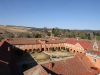 Michaelhouse - view from chapel tower  - quadrangle (1)