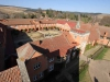 Michaelhouse - view from chapel tower  - quadrangle (2)