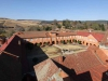 Michaelhouse - view from chapel tower  - quadrangle (3)