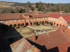 Michaelhouse - view from chapel tower  - quadrangle (4)