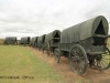 Blood River - Wagons in laager - Bronzes -  (14)