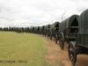 Blood River - Wagons in laager - Bronzes -  (15.) (3)