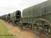 Blood River - Wagons in laager - Bronzes -  (18)