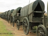 Blood River - Wagons in laager - Bronzes -  (19)