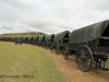 Blood River - Wagons in laager - Bronzes -  (28)