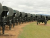 Blood River - Wagons in laager - Bronzes -  (30)