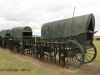 Blood River - Wagons in laager - Bronzes -  (9)