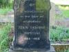 Baynesfield St Johns Church grave Edwin Mapstone 1968