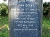 Baynesfield St Johns Church grave John Grant
