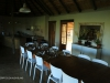 Bergville Dalmore farm dining room