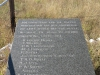 Rietfontein Farm - Boer Cemetery - Name Plaque -  S 28.28.49 E 29.49 (4)
