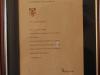 Rietfontein Farm - pictures - John Hawkesbury Certificates - Farm Owner 2014 (1)