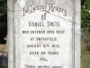 Boston St Michaels United Church - grave Daniel Smith 1913