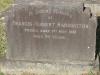 Boston St Michaels United Church - grave Francis Harrington 1961