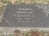 Boston St Michaels United Church - grave Isabel Carroll 1984