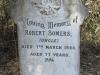 Boston St Michaels United Church - grave Robert Somers 1920