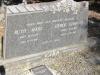 Boston St Michaels United Church - grave Ruth and Errol Carr