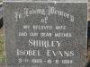 Boston St Michaels United Church - grave Shirley Evans 1984