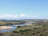 Harold Johnson Nature Reserve - Tugela - Tugela River easterly views & N2 bridge