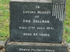 camperdown - Church of thr Resurrection - Grave - Ann dallman 1941