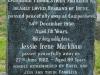 camperdown - Church of thr Resurrection - Grave -Benjamin Markham M.C. and Jessie