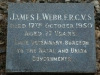 camperdown - Church of thr Resurrection - Grave - James Webb F.R. C.V.S. 1950