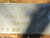 Caversham Press grave Daphne Thompson