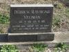 Creighton Cemetery grave Derick Yeaoman 1989