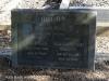 Creighton Cemetery grave Edith & Malcolm Brown