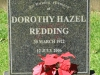 Curry's Post - St Paul's Church -  grave -  Dorothy Redding - 2006