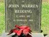 Curry's Post - St Paul's Church -  grave -  John Warren Redding - 2001