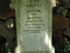 Curry's Post - St Paul's Church -  grave -  Sarah Ann Curry - 1912 - (wife of George)