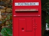 Aird farm Post box red