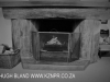 Dargle Farm - interior fireplace