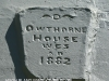 Owthorne Farm - Dargle - date plaque 1882