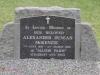 Dargle - St Andrews Church  - Grave - Alexander D McKenzie