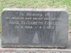 Dargle - St Andrews Church - Grave -  Fowler Anne 1970 -