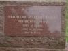 Dargle - St Andrews Church - Grave - Madeleine Marcelle  Parkin - 2000 -