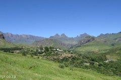 Drakensberg - Didima & Cathedral Peak