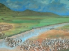 Blood River - eNcome Museum - painting of battle (1)