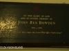DURBAN St Thomas Musgrave  Memorial John Rex Bowden