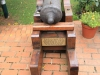 Durban - Berea - Elephant House - British 3 pounder from Ariosto wreck - Durban 1854 (3)