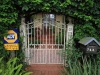Durban - Berea - Elephant House - Front gate and view of North Ridge Road (1)