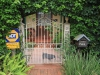 Durban - Berea - Elephant House - Front gate and view of North Ridge Road (2)
