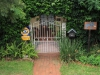 Durban - Berea - Elephant House - Front gate and view of North Ridge Road (7)