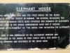 Durban - Berea - Elephant House -  House plaque - 1849